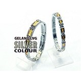 LVG Gelang for Couple - Silver - Alat Terapi Sendi