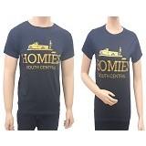 MIT Couple T-Shirt Homies - Black (V) - Kaos Wanita