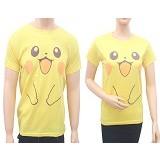 MIT Couple T-Shirt  Pika  - Yellow (V) - Kaos Wanita
