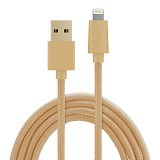ZIKKO Lightning Adapter Cable 1.5m for iPhone [SC 500] - Gold