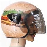 ROTAMART Helm Motor 2 Dimensi - Burger