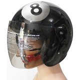 ROTAMART Helm Motor 2 Dimensi - Cencen Bola Billiard