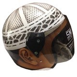 ROTAMART Helm Motor 2 Dimensi - Cencen Peci