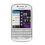 BLACKBERRY Q10 (Garansi by Merchant) - White - Smart Phone BlackBerry