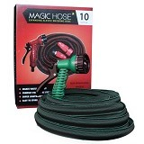 MAGIC HOSE Expanding Elastic Water Hose - Dark Green - Penyiram Tanaman