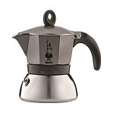 BIALETTI Moka Induction Anthracite 3 Cup - Mesin Kopi Manual