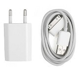 APPLE Charger iPhone 4 - Charger Handphone