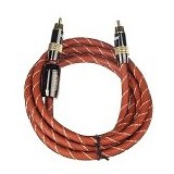 ANYLINX Premium Gold Cable Coaxial 2 M - Orange - Network Cable Coaxial