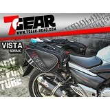 7GEAR Vista Sidebag [SB0010515] - Black - Tankbag / Tas Motor