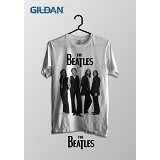 TOMOINC The Beatles Photo Kaos Band Original Gildan Size S [BTL018] - Kaos Pria