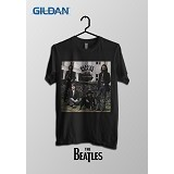 TOMOINC The Beatles Again Kaos Band Original Gildan Size L [BTL013] - Kaos Pria