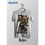 TOMOINC The Beatles Typo Kaos Band Original Gildan  Size L [BTL016] - Kaos Pria