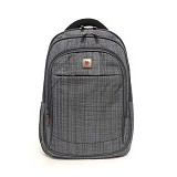 POLO CLASSIC Tas Ransel [18053-21] - Grey - Notebook Backpack