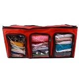RADYSA Cloth Multifunction Organizer - Red - Container