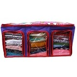RADYSA Cloth Multifunction Organizer Karakter Hello Kitty - Purple - Container