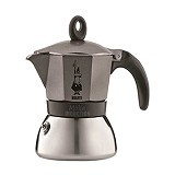 BIALETTI Moka Induction Anthratice 6 Cup - Mesin Kopi Manual