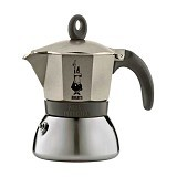 BIALETTI Moka Induction 3 Cup - Light Gold - Mesin Kopi Manual