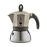 BIALETTI Moka Induction 6 Cup - Light Gold - Mesin Kopi Manual