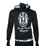 GUDANG FASHION Jaket Bola Sporty Club Team Juventus [JBL 552] - Black - Jaket Casual Pria