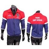 GUDANG FASHION Jaket Bola Paris Saint Germain [JBL 635] - Red Navy Blue - Jaket Casual Pria