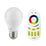 MILIGHT Lampu Pintar LED RGBW Warm White 6W [Paket J] - Lampu Bohlam / Bulb