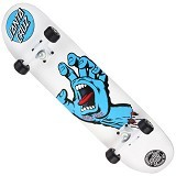 SANTA CRUZ Hand Screaming - White - Papan Skateboard & Aksesoris