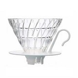 HARIO Dripper V60 Glass [VDGN-02W] - Mesin Kopi Manual