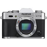 FUJIFILM Digital Camera X-T10 Body Only - Silver - Camera Mirrorless