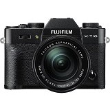 FUJIFILM Digital Camera X-T10 Kit1 - Black - Camera Mirrorless