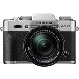 FUJIFILM Digital Camera X-T10 Kit1 - Silver - Camera Mirrorless