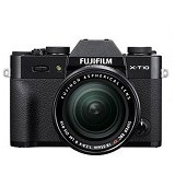 FUJIFILM Digital Camera X-T10 Kit2 - Black - Camera Mirrorless