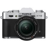 FUJIFILM Digital Camera X-T10 Kit2 - Silver - Camera Mirrorless