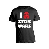 JERSICLOTHING T-Shirt Star Wars 06 Size S - Black - Kaos Pria
