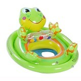 INTEX See Mesit Pool Riders A Frog [59570] - GREEN - Ban Renang