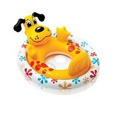 INTEX See Mesit Pool Riders B Dog [59570] - Yellow - Ban Renang