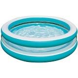 INTEX Swim Center See Through Round Pool [57489] - Blue - Kolam Renang Portable