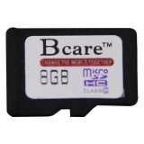 BCARE MicroSD Card 8GB Class 6 - Micro Secure Digital / Micro Sd Card