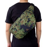 FASHIONLIZIOUS Waistbag 385 Army [W385ALG] - Light Green - Tas Pinggang / Travel Waist Bag