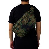 FASHIONLIZIOUS Waistbag 385 Army [W385ADG] - Dark Green - Tas Pinggang/Travel Waist Bag