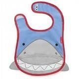 SKIP HOP Zoo Bib Shark - Celemek Bayi / Bib