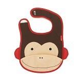 SKIP HOP Zoo Bib Monkey - Celemek Bayi / Bib