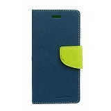 MERCURY GOOSPERY Samsung Galaxy Note 3 Neo Case - Navy/Lime - Casing Handphone / Case