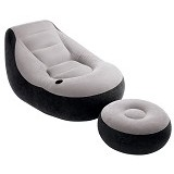INTEX Ultra Lounge [68564] - Grey - Bantal Duduk / Bean Bag