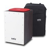 VORA PERCUSSION Nuevo Series Cajon KIT [ND01K] - Dark - Cajon / Drum Box