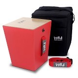 VORA PERCUSSION Travel Cajon KIT [TC01RK] - Red - Cajon / Drum Box