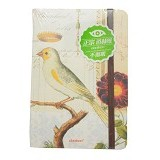 DAOLEN Notebook King Bird [JB159] - White (V) - Buku Catatan / Journal