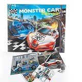 TOP MODEL Monster Cars Stickerworld [TM 6244] - Sticker