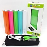 HIPPO Powerbank Nuc 10000mAh - Green - Portable Charger / Power Bank