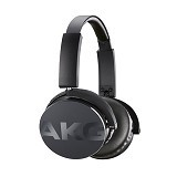 AKG On Ear Headphone With Mic [Y50] - Black - Headphone Portable