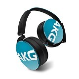 AKG On Ear Headphone With Mic [Y50] - Teal - Headphone Portable